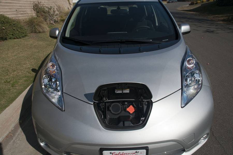 WIND-WORKS: Our Nissan Leaf