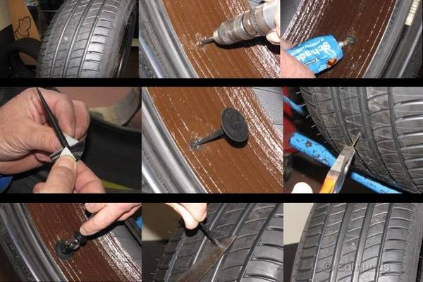 wind works chevy bolt self sealing tires work but more difficult to