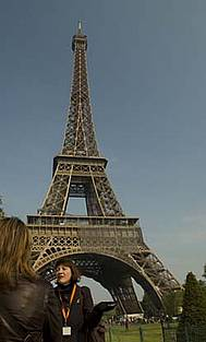 The Eiffel Tower was at one time vilified by the elite of French society as a